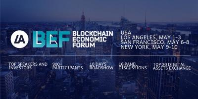 The 5th Blockchain Economic Forum - Part 1 Los Angeles