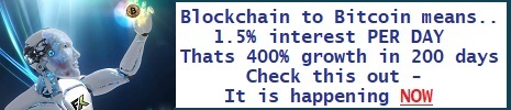 Blockchain to Bitcoin means...