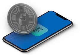 faxt coin with phone and coin
